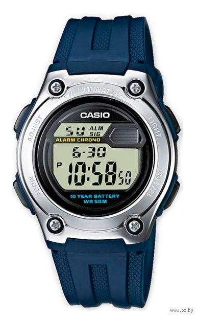 Часы наручные (синие; арт. W-211-2AVES) — фото, картинка