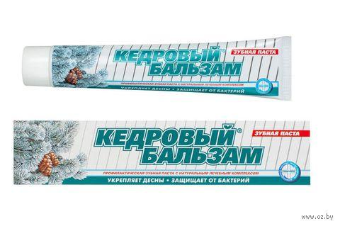 """Зубная паста """"Кедровый бальзам"""" (100 мл) — фото, картинка"""