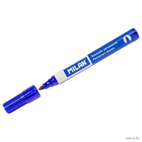 Маркер перманентный (синий, 3 мм)