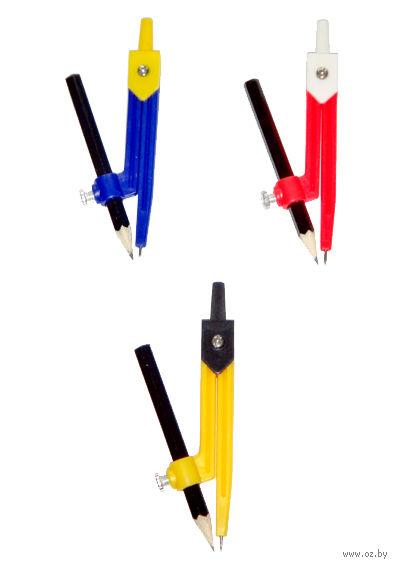 """Циркуль """"Козья ножка"""" с карандашом (арт. Ю36001)"""