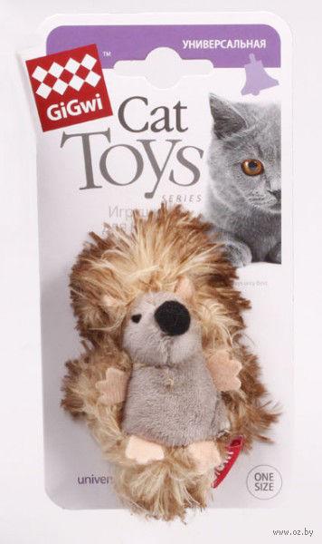 """Игрушка для кошек """"Ежик"""" (7 см)"""