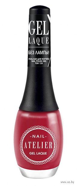 """Гель-лак для ногтей """"Nail Atelier"""" (тон: 128, красно-розовый) — фото, картинка"""