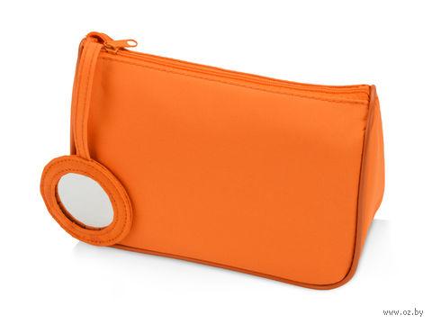 """Косметичка """"Стефани"""" (оранжевая) — фото, картинка"""