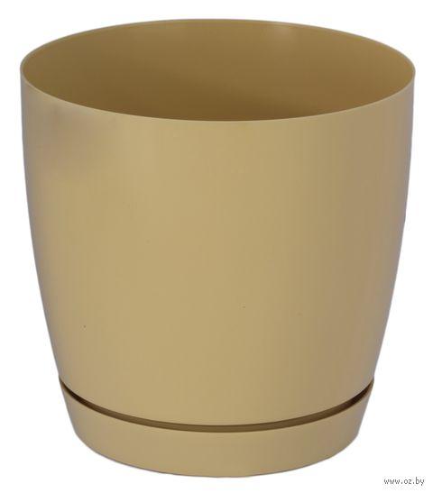 """Цветочный горшок """"Тоскана"""" (17 см; кофе латте) — фото, картинка"""