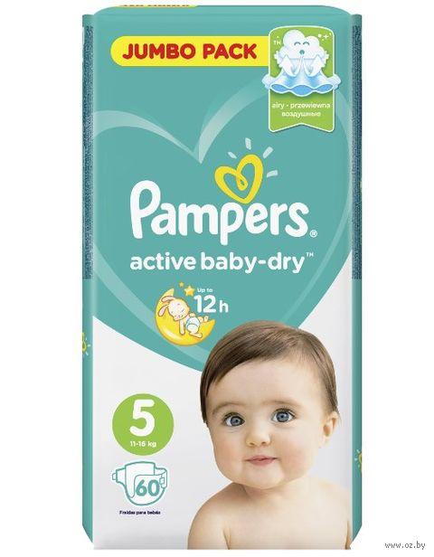 "Подгузники ""Active Baby-dry Junior"" (11-16 кг; 60 шт.) — фото, картинка"