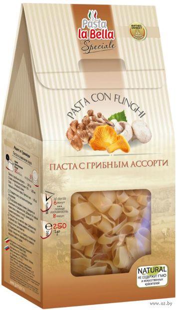 """Паста """"Pasta la Bella. Speciale. С грибным ассорти"""" (250 г) — фото, картинка"""