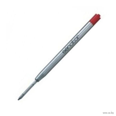 Объемный металлический суперстержень (красный, длина 96 мм, толщина письма 0,5 мм)