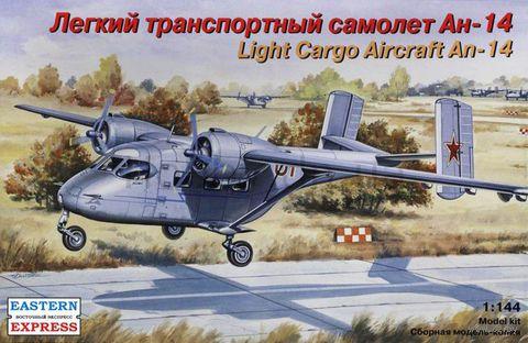 Легкий транспортный самолет Ан-14 (масштаб: 1/144)
