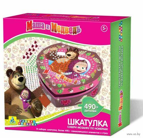 "Набор для оформления шкатулки ""Маша и Медведь"" — фото, картинка"
