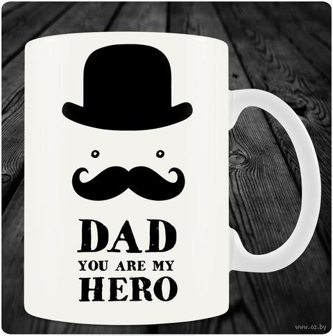 "Кружка ""Dad you are my Hero"" (art.14)"