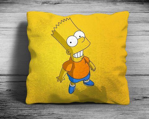 "Подушка ""Симпсоны"" (арт. 5; 28х28 см) — фото, картинка"