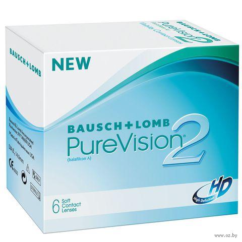 """Контактные линзы """"Pure Vision 2 HD"""" (1 линза; -4,25 дптр) — фото, картинка"""