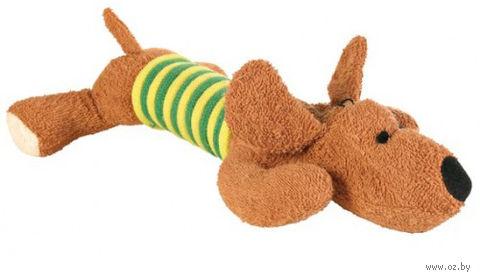"Игрушка для собак ""Собака"" со звуком (28 см) — фото, картинка"