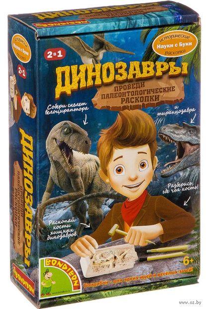 """Набор палеонтолога """"Динозавры 2 в 1"""" — фото, картинка"""