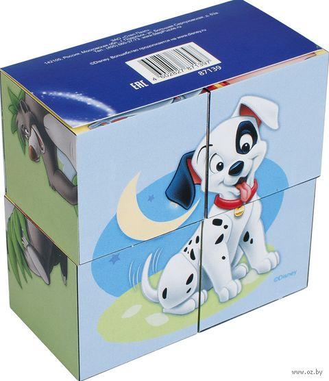 "Кубики ""Зверята Disney"" (4 шт.) — фото, картинка"