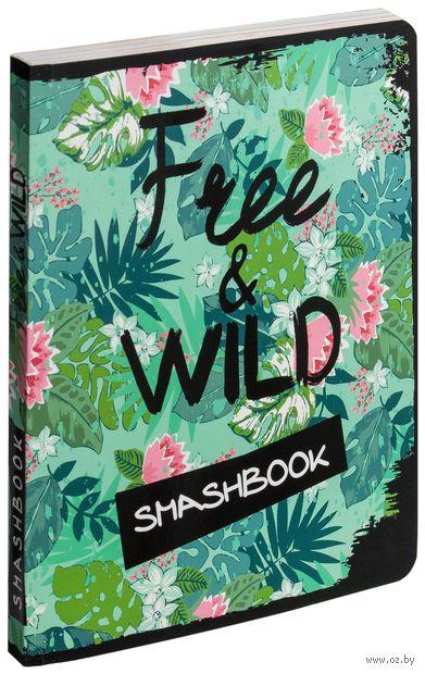 """Блокнот """"Free and wild"""""""