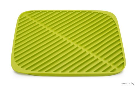 """Коврик для сушки посуды """"Flume"""" (315х315х10 мм; зеленый) — фото, картинка"""