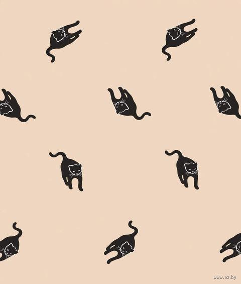 """Простыня хлопковая """"Cats"""" (145х220 см) — фото, картинка"""