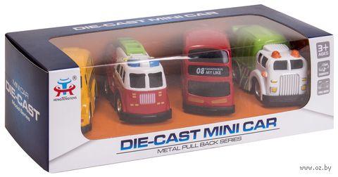"Набор машинок инерционных ""Mini Car"" (арт. DV-T-1155) — фото, картинка"