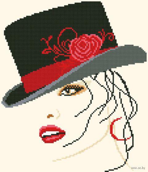 """Алмазная вышивка-мозаика """"Портрет женщины"""" (320х370 мм) — фото, картинка"""