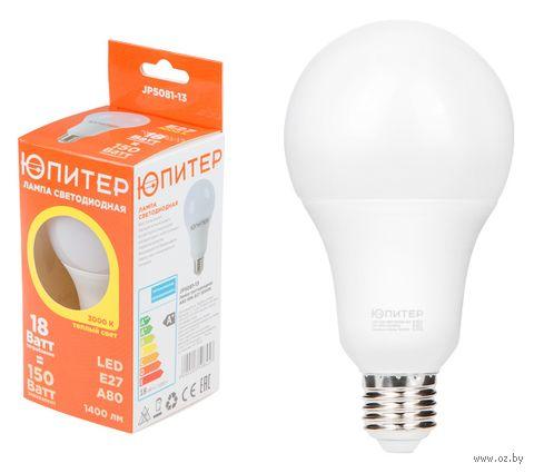 Лампа светодиодная Стандарт А60 18 Вт/3000/Е27 — фото, картинка