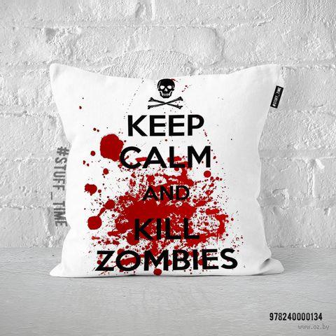 """Подушка """"Kill Zombies"""" (арт. 134)"""