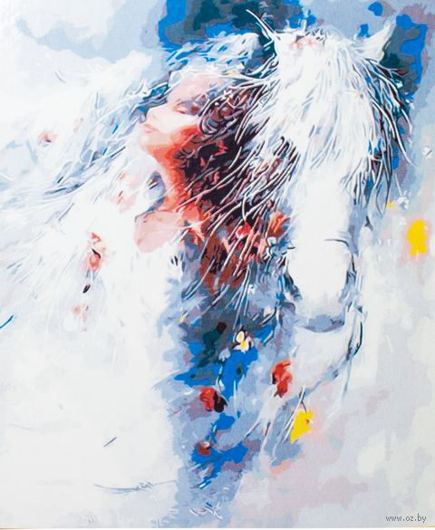 """Картина по номерам """"Наваждение"""" (400x500 мм; арт. MG7090)"""