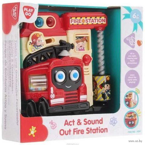 """Развивающая игрушка """"Пожарная станция"""" (со световыми эффектами) — фото, картинка"""
