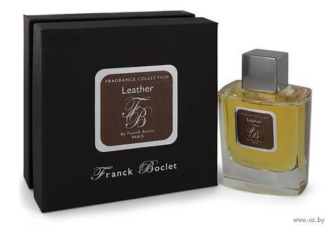 """Парфюмерная вода для мужчин """"Leather"""" (50 мл) — фото, картинка"""