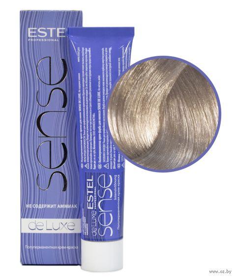 """Крем-краска для волос """"Sense De Luxe"""" тон: 10/76, светлый блондин коричнево-фиолетовый — фото, картинка"""