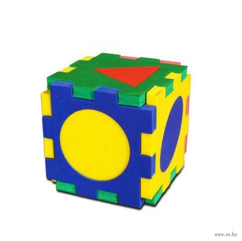 """Развивающая игрушка """"Кубик-геометрия"""""""