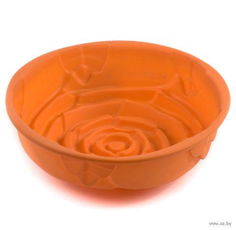 Форма для выпекания силиконовая (21*21*6,6 см)