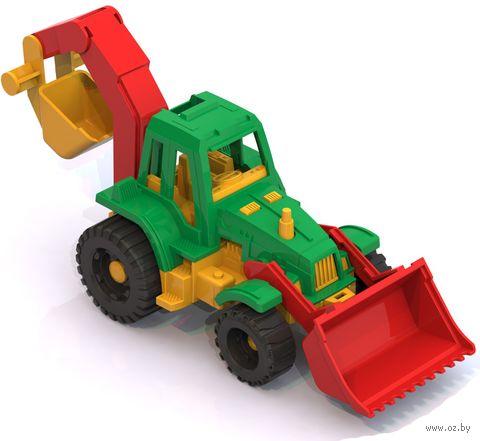 """Трактор """"Ижора"""" (с грейдером и ковшом)"""