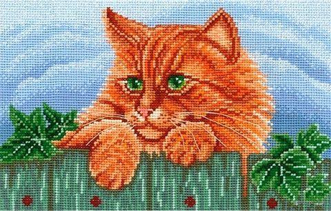 """Набор для вышивания """"Рыжий кот"""""""