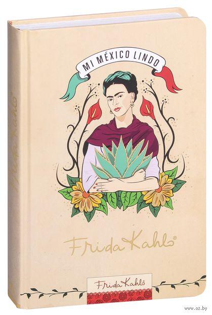 "Блокнот ""Фрида Кало. Бежевая обложка"" (А5) — фото, картинка"