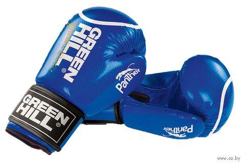 """Перчатки боксерские """"Panther"""" BGP-2098 (10 унций; синие) — фото, картинка"""