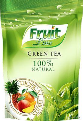 """Чай зелёный листовой """"Fruit Line. Тропические фрукты"""" (80 г) — фото, картинка"""