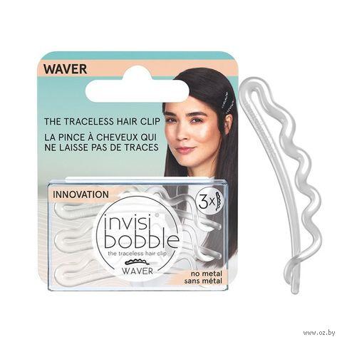 "Набор заколок для волос ""Waver Crystal Clear. С подвесом"" (3 шт; арт. 3154) — фото, картинка"