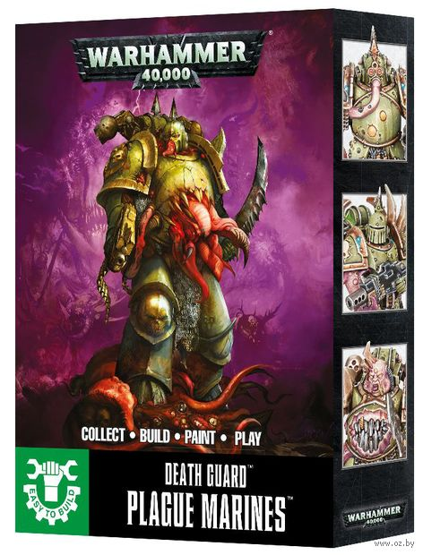 Warhammer 40.000. Death Guard. Plague Marines. Easy to Build (43-30) — фото, картинка