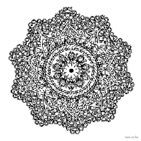 "Холст на подрамнике с эскизом ""Мандала"" (300х300 мм; арт. 1411170) — фото, картинка"