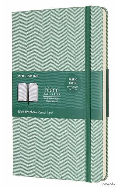 """Записная книжка в линейку """"Blend"""" (А5; зеленая) — фото, картинка"""