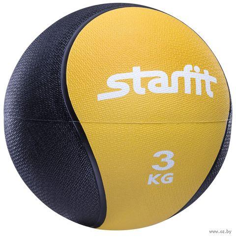 Медбол Pro GB-702 3 кг (жёлтый) — фото, картинка
