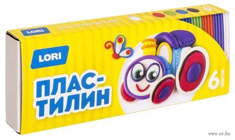 """Пластилин """"Детский"""" (6 цветов; арт. Пл-016) — фото, картинка"""
