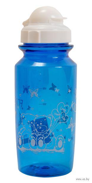 """Бутылка для воды """"Bear"""" (500 мл; синяя) — фото, картинка"""