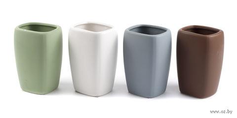 Стакан туалетный керамический (105 мм) — фото, картинка