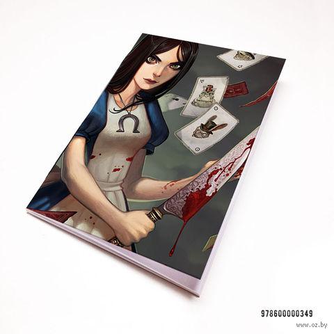 "Блокнот белый ""Алиса"" А7 (349)"