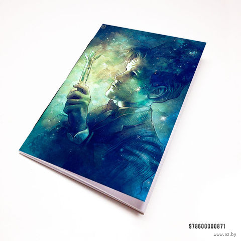 "Блокнот белый ""Доктор Кто"" А7 (871)"