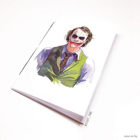"Блокнот белый ""Джокер"" А5 (044)"