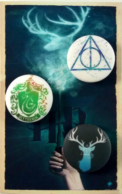 """Набор значков маленьких """"Гарри Поттер"""" (арт. 291) — фото, картинка"""