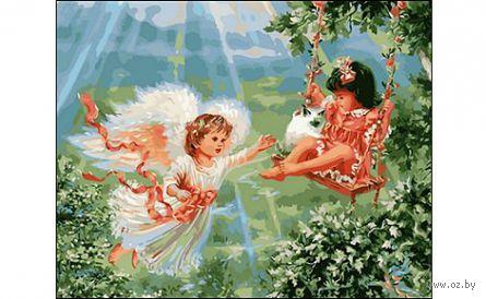 """Картина по номерам """"Ангел"""" (400x500 мм) — фото, картинка"""